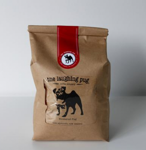 Laughing Pug Drip Bags Neutered Pug Decaf